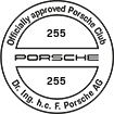 Officially approved Porsche Club 255
